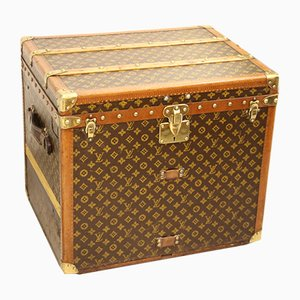 Vintage Monogram Steamer Trunk by Louis Vuitton, 1930s