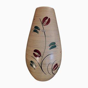 Vaso da terra grande di Übelacker Keramik, anni '60