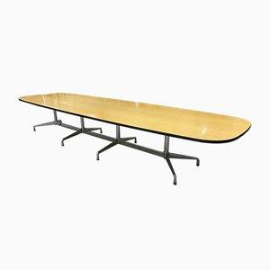 Segmentierter großer Vintage Ellipse Tisch von Eames für Vitra