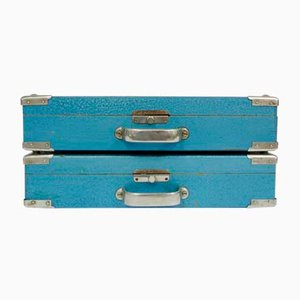Vintage Suitcases, 1960s, Set of 2