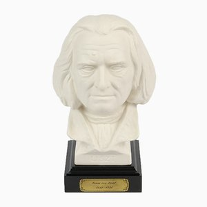 Bisque Bust of Franz Liszt by Gerhard Bochmann for Goebel, 1970s