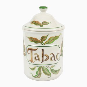 Porcelain Tabac Container from Haviland Limoges, 1960s
