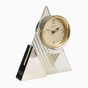 Postmoderne Pendel Schreibtisch-Uhr von Maxim, 1980er