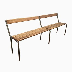 French School Bench from Mullca, 1950s