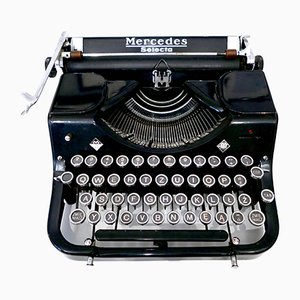 Vintage Selecta Typewriter from Mercedes Büromaschinen, 1930s