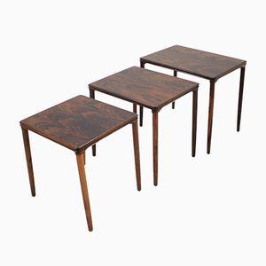 Tables Gigognes en Palissandre, 1960s