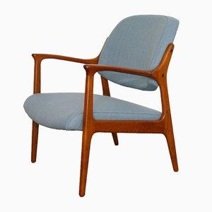 Skandinavische Vintage Domus Armlehnstuhl aus Teak von Bröderna Andersson