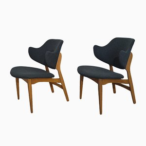 Scandinavian Side Chairs, 1960s, Set of 2