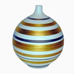 Jarrón de porcelana de Hutschenreuther, años 70