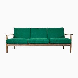 Canapé Vintage en Teck de Walter Knoll