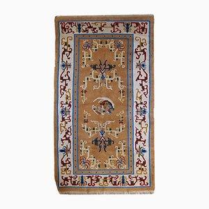 Handgefertigter chinesischer Vintage Teppich, 1960er