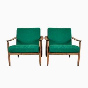 Mid-Century Sessel von Walter Knoll, 2er Set
