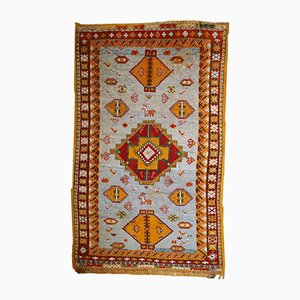 Antiker handgefertigter marokkanischer Berber Teppich