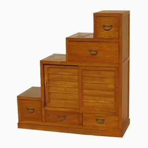 Teak Staircase Cabinet, 1980s