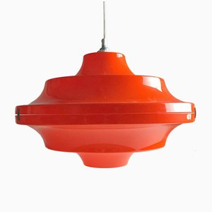 L{lámpara de techo era espacial, años 70