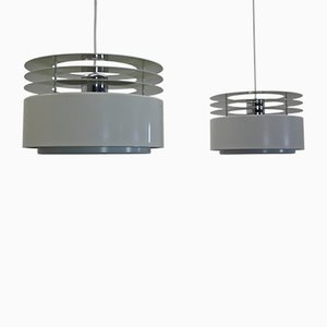 Hydra 2 Pendants by Jo Hammerborg for Fog & Mørup, 1970s, Set of 2
