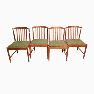 Chaises de Salle à Manger en Teck, Suède, 1960s, Set de 4