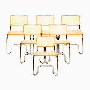 Italienische Vintage Stühle, 1970er, 6er Set