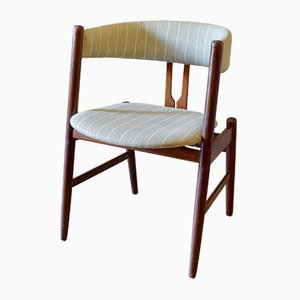 Vintage Teak Elbow Chair