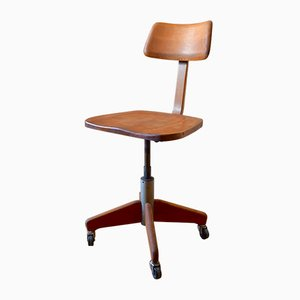 Vintage Industrial Swiss Swivel Chair from Stoll Giroflex