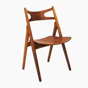 Sawbuck Chair by Hans J. Wegner for Carl Hansen & Søn, 1950s