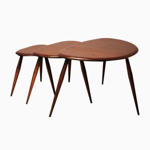 Tables Pebble par Lucian Ercolani pour Ercol, 1950s