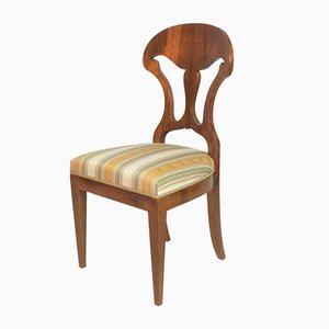 Biedermeier Stuhl aus Eschenholz, 1820er
