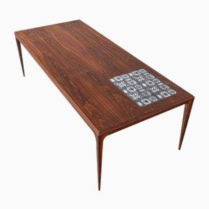 Grande Table Basse en Palissandre par Johannes Andersen pour CFC en Soieeborg, 1960s