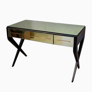 Tavolo Mid-Century specchiato, anni '50