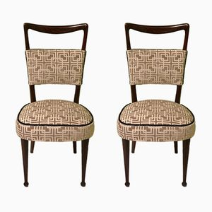 Italian Side Chairs by Osvaldo Borsani, 1950, Set of 2