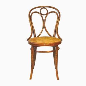Antiker N°19 Stuhl aus Holz von Thonet, 1890er