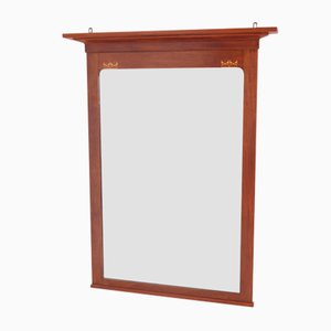 Arts & Crafts Mahogany Mirror by J.M. Middelraad for H. Pander & Zn., 1900s