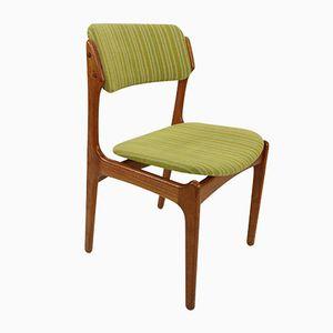Modell 49 Esszimmerstühle aus Teak von Erik Buch für Odense Maskinsnedkeri, 1960er, 4er Set