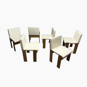 Monk Chairs by Tobia & Afra Scarpa for Molteni, 1970s, Set of 6