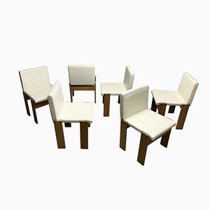 Monk Stühle von Tobia & Afra Scarpa für Molteni, 1970er, 6er Set