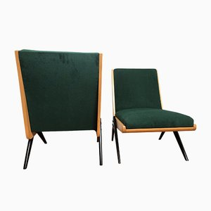 Mid-Century Polish Lounge Chairs from Słupskie Fabryki Mebli, 1960s, Set of 2