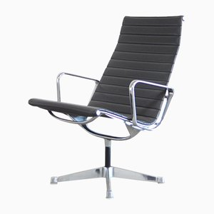 Vintage EA 116 Vinyl Aluchair by Charles & Ray Eames for Herman Miller