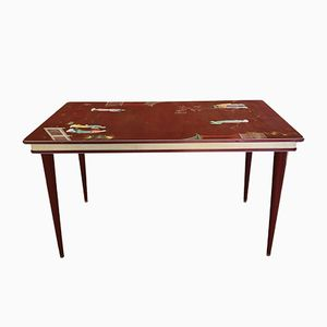 Vintage Dining Table by Umberto Mascagni, 1950s