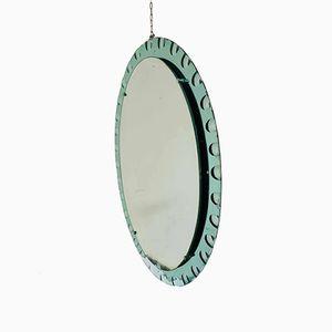Ovaler Spiegel von Max Ingrand für Fontana Arte, 1950er