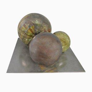 Set di sfere vintage in ceramica
