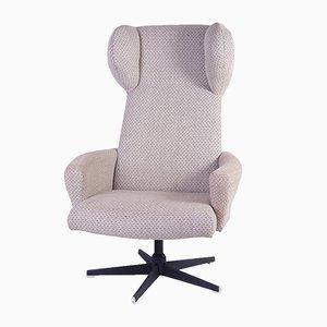 Wing Back Swivel Chair, 1970s