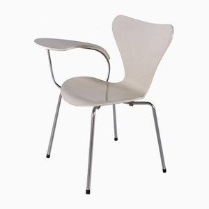 Sedia da scrivania nr. 3107 di Arne Jacobsen per Fritz Hansen, 1973