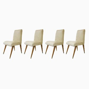 Mid-Century Teak Dining Chairs from Maple & Co, Set of 4