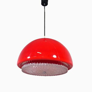 Vintage Hanging Lamp from Peill & Putzler, 1950s
