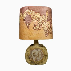 Lámpara de mesa grande de Marianne Koplin, años 70