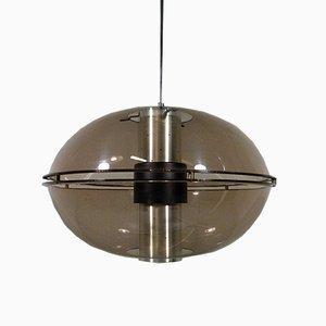 Lámpara colgante Orbiter Sphere B-1151 de Raak, años 60