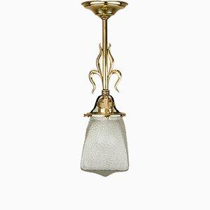 Antike Deckenlampe, 1900er