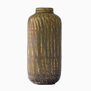 Vase aus Steingut & Schamotte von Gunnar Nylund für Rörstrand, 1940er