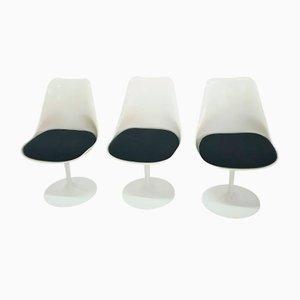 Vintage Tulip Stühle von Eero Saarinen für Knoll, 1980er, 3er Set