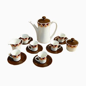 Spanish Coffee Set from Royal China Vigo, 1960s
